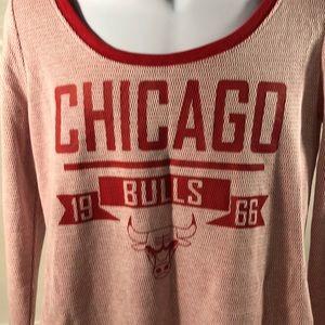 Chicago Bulls Long Sleeve Henley